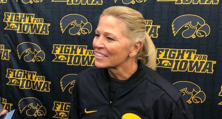 Renee-Gillispie-Iowa-Softball