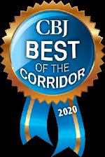 Vortex Digital Business Solutions Iowa City Cedar Rapids Corridor Business Journal CBJ Best of the Corridor 2020 badge