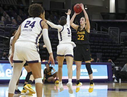 Iowa Women's Basketball at Northwestern