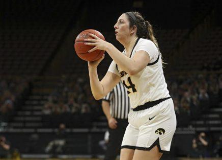 Iowa Women's Basketball vs Purdue
