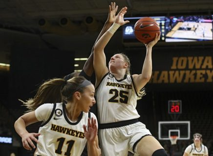 Iowa Women's Basketball vs Northwestern