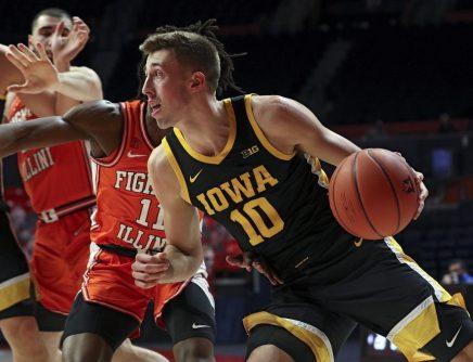 Iowa Men's Basketball at Illinois