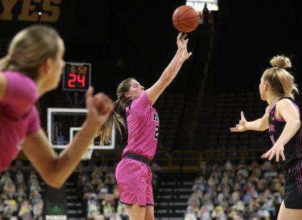 Iowa Women's Basketball vs Penn State