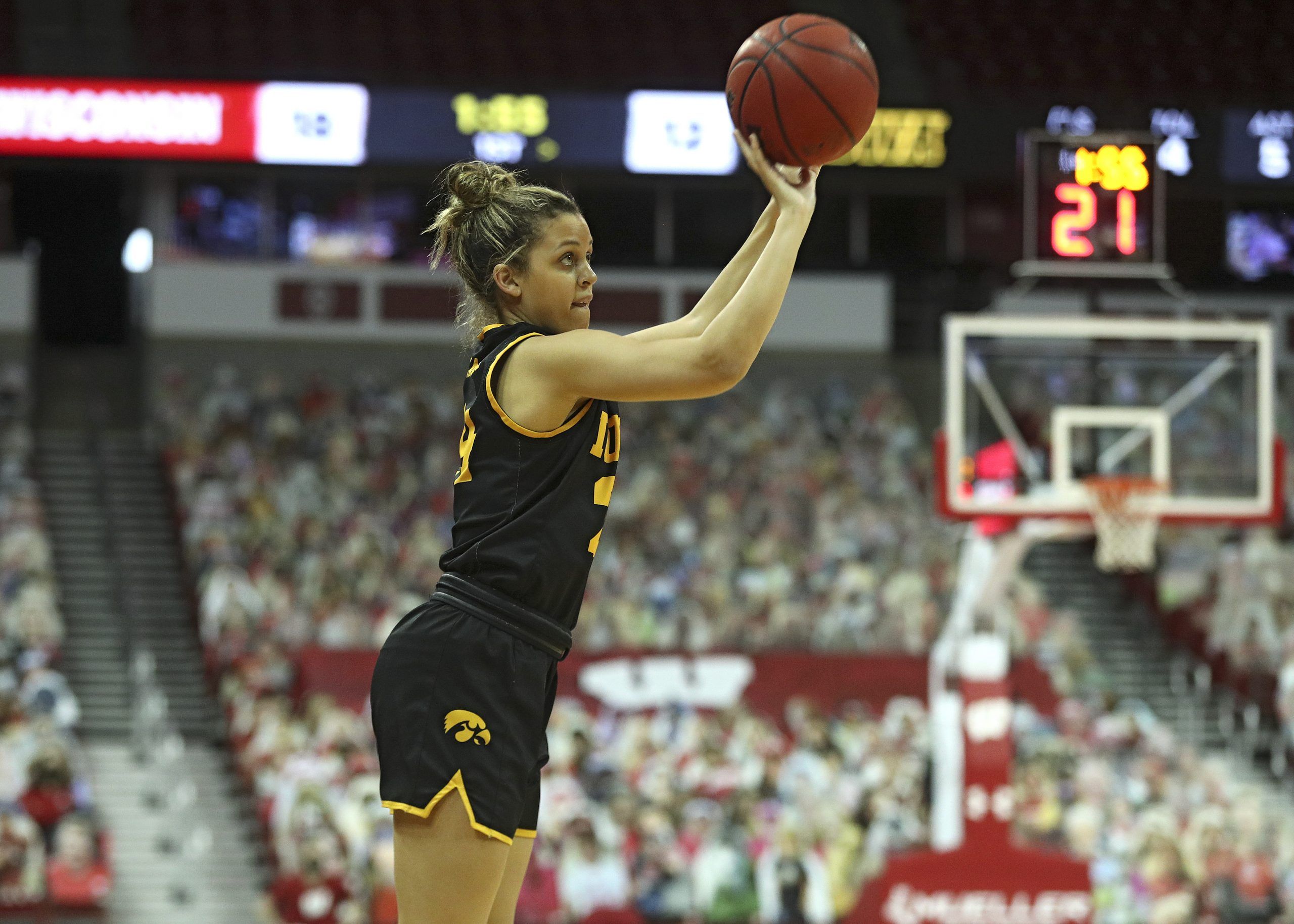 Iowa Women's Basketball at Wisconsin
