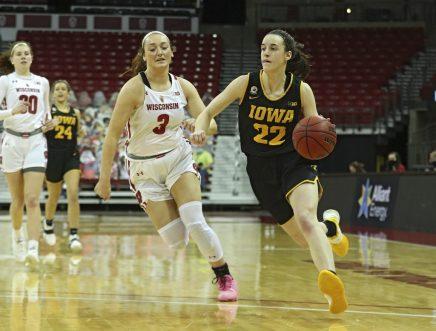 Iowa Women's Basketball at Wisconsin
