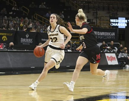 Iowa Women's Basketball vs Nebraska